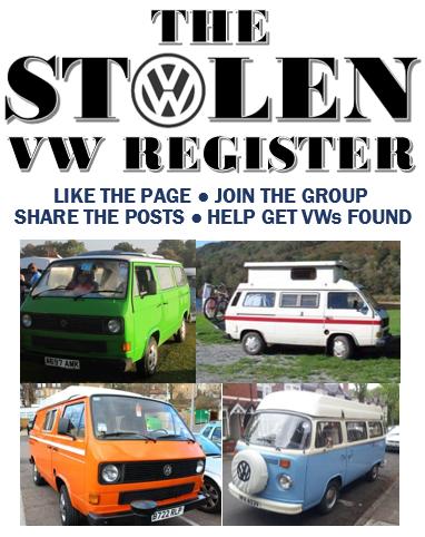 The Stolen VW Register